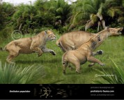 Smilodon and Macrauchenia