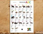 Prehistoric ABC, poster