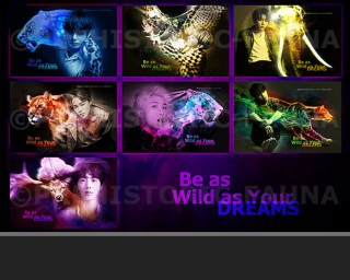BTS Arts Project Be As Wild As Your Dreams
