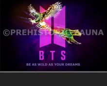 BTS Arts Project Be As Wild As Your Dreams (7 members and other)